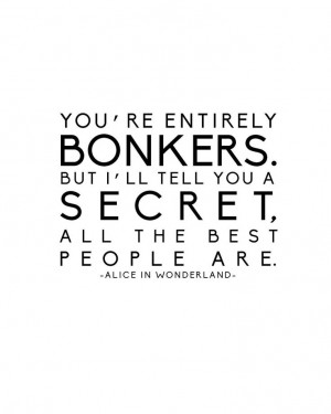 quotes mad hatter alice in wonderland quote alice in wonderland quotes ...