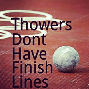 track and field quotes for throwers