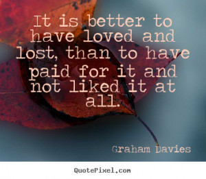 Inspirational Quotes About Love Lost