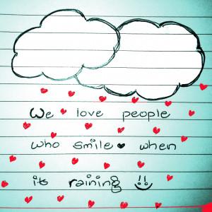 Monsoon rains and ramblings