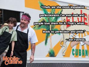 Jon Favreau Chef Quote