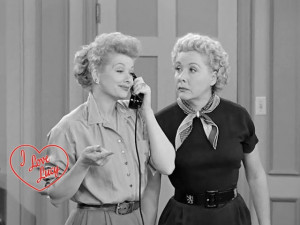 Lucy and Ethel - best friends
