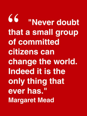Margaret Mead Quote Inspirational quotes