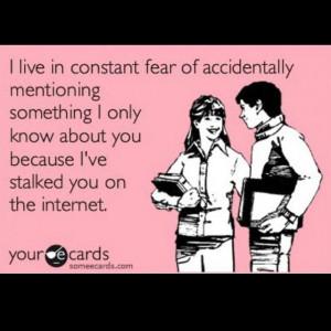 Facebook Stalker-- hilarious!!! @Patty Llanos