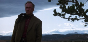 Unforgiven screen shot Clint Eastwood