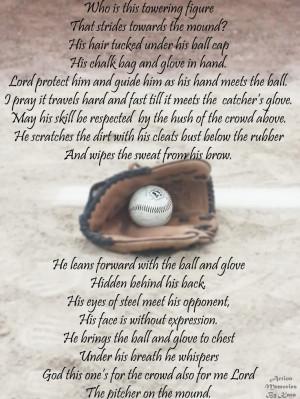 Pitcher's prayer