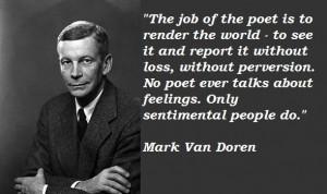 Mark van doren quotes 3