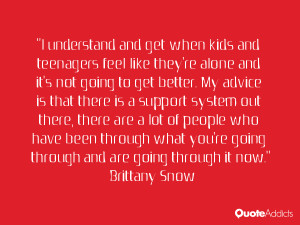 Brittany Snow Quotes