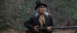 Lone Watie ( Chief Dan George ) with an Enfield 1853 rifle.