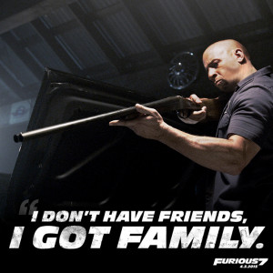Fast And Furious Movie - Vin Diesel (Dominic Toretto)