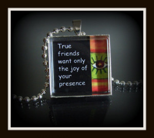 Glass Photo Pendants Quotes and Sayings on Black in Silver Photo ...