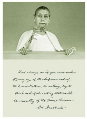 Message Distributed in Ashram, 21st Feb 2009