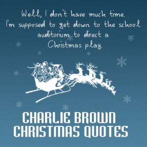 Charlie Brown Christmas Quotes for Cards