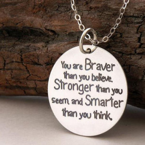 ... .... inspirational quote ... graduation gift ... Winnie the Pooh