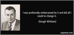 More Gough Whitlam Quotes