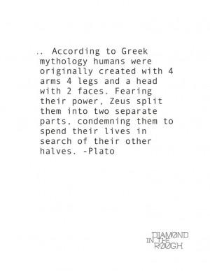 Greek Mythology #Plato #love #quote