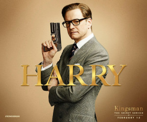 The characters in Kingsman are wonderfully written. My favorite is ...