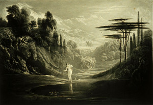 ... , John Martin. Original illustration from Paradise Lost , Book 5