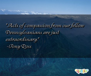 Acts of compassion from our fellow Pennsylvanians are just ...