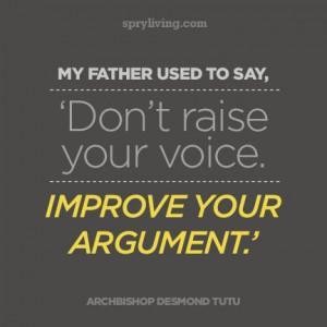Archbishop Desmond Tutu #quote spryliving.com