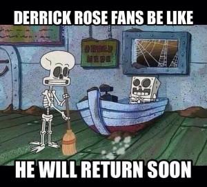 Derrick Rose Fans Be Like