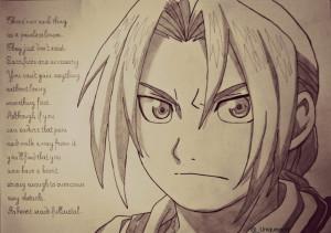 Edward Elric - Fullmetal Alchemist Brotherhood by NinaStarina