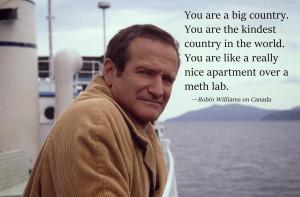 Robin Williams on Canada