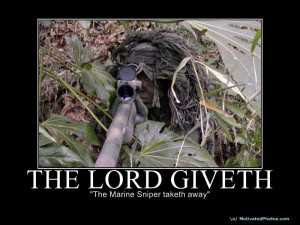 Thank You Marine Semper Fi Carry On Demotivational Poster