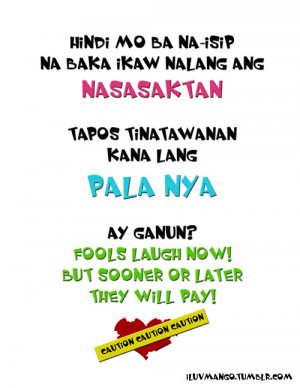 Ago Tagalog Bitter Quotes Love Kootation