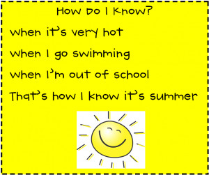 Back > Quotes For > Rhyming Poems About Summer