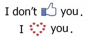 Love Quote – I love Like you.I Love you.