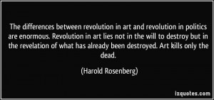 More Harold Rosenberg Quotes