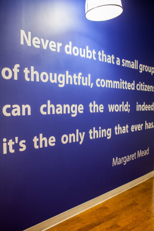 Positive Work Environment Quotes Co-working with alleynyc