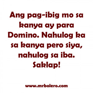 quotes Mga Patama sa mga Nagmamahal the Best Tagalog love quotes ...