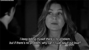 Grey's Anatomy Quotes 2012 | meredith grey, problem, quote - inspiring ...
