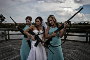 Nice groomsman photo, here's my sister in law and her bridesmaids.