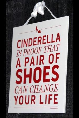 cinderella, life, shoes