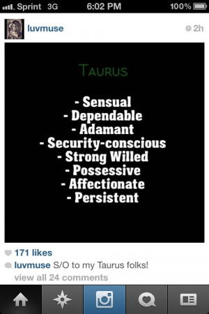 Quotes About Taurus Women