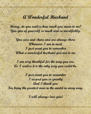 quotes for him on our anniversary Anniversary Poems For Husband ...