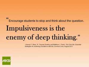 Quotes About Deep Thinking