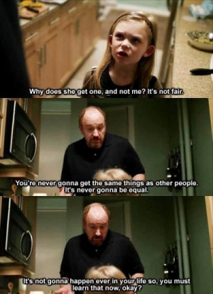 Parenting Tips From Louis CK