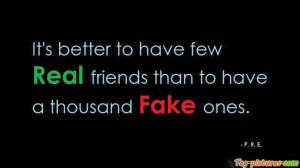 Fake Friends Facebook