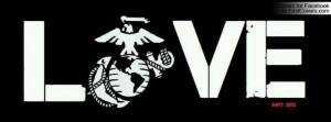 Marine Love Profile Facebook Covers
