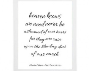 Book quote poster- Charles Dickens- Great Expectations quote- literary ...