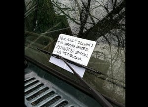 The Funniest Notes To Bad Parkers Ever Written (PHOTOS)