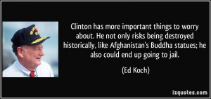 More Ed Koch Quotes