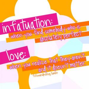 Real Love vs. Infatuation