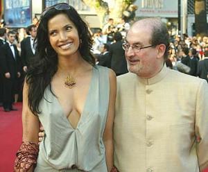 Salman Rushdie Wife Padma Lakshmi