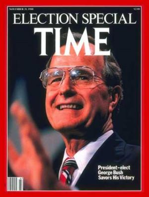 Time - George H. W. Bush - Nov. 21, 1988 - George H.W. Bush ...