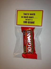 ... appreciation gift teacher appreciation gifts using 100 grand candy